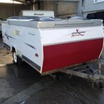 Camper Trailer after repair
