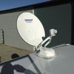 VANSAT Satellite Dish